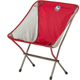 Big Agnes Mica Basin Sedia Da Campeggio, red/gray